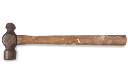 An old builders hammer. royalty free stock image