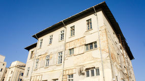 Old building. With  blue sky in background Royalty Free Stock Images