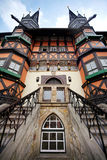 Old building. Hall of Wernigerode in Germany royalty free stock images