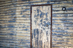 Old Building. Dilapidated old building with peeling paint Stock Images