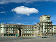 Old building. Russia.  Norilsk Stock Photography