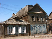 Old building. House, Astrakhan, Russia Royalty Free Stock Photo