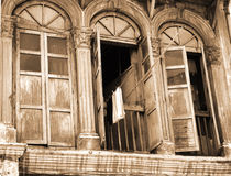 Old Building. Old Shophouses royalty free stock photo