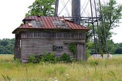 Old Building alongside Lighthouse Royalty Free Stock Image