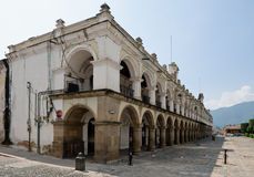 Old building in Antigua royalty free stock images