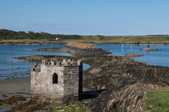 Old building in Ardglass Stock Photography