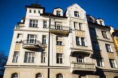 Old building / Art Nouveau house in Munich city Royalty Free Stock Images