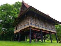 Old  building from asia. Seen in moesgaard garden Denmark Stock Photos