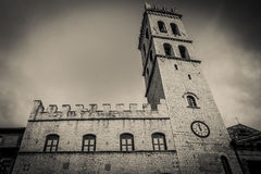 Old building in Assisi Royalty Free Stock Photo