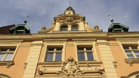 Old Building Baroque And Local Style In Historic Town Stock Images