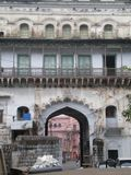 The old building in Bhopal Stock Photo