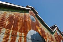 Old building in Bogyoke market Stock Photography