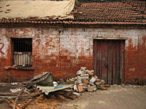 Old building, brick walls in China, Stock Photography