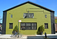 Old building in Brooklyn, New York City Royalty Free Stock Images