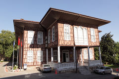 Old building of Bursa municipality Stock Image