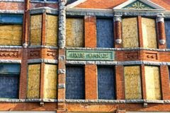 Old Building in Butte, Montana Stock Photography