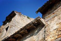 Old  building in Buzet,Croatia Stock Photo