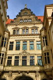 Old Building in Center of City Dresden, Germany Royalty Free Stock Images
