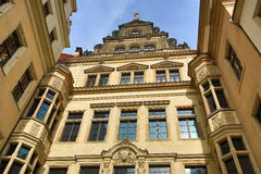 Old Building in Center of City Dresden, Germany Stock Photography