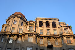 Old building in center of St.Petersburg. Royalty Free Stock Photos