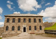 Old building in Charles Fort,  Kinsale Royalty Free Stock Image