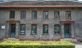 Old building in Chengdu, China stock images