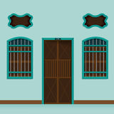 Old building Chino Portuguese style Royalty Free Stock Photo