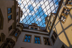 The old building of city Dresden, Germany Royalty Free Stock Photo