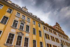 The old building of city Dresden, Germany Stock Photos