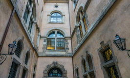 The old building of city Dresden, Germany Stock Images