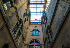 The old building of city Dresden, Germany Stock Photography