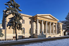 The old building is in classical style. Stock Photography