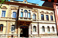 Old building in Cluj-Napoca, Transylvania Royalty Free Stock Photos
