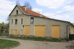Old building in countryside. Very old building in countryside Stock Image