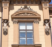 Old building decorations Royalty Free Stock Photography