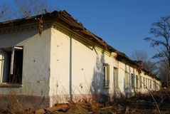 Old building for demolition Royalty Free Stock Photos