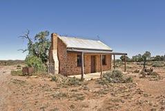 Old building in desert Stock Photo