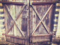 Old building door Royalty Free Stock Images