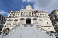 Old building of East Asiatic in Thailand Royalty Free Stock Photo
