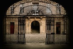 Old building entrance Royalty Free Stock Photography