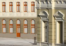 Old building facade Royalty Free Stock Photos