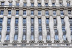 Old building. Facade of beautiful old building Royalty Free Stock Photos