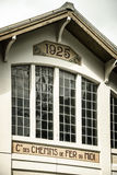 Old building facade of  chemins de fer du midi Royalty Free Stock Photography