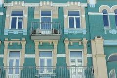 Old building facade Royalty Free Stock Photos