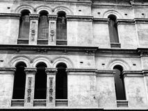 Old Building Facade Stock Photo