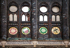 Old building facade in Lubeck, Germany Royalty Free Stock Image