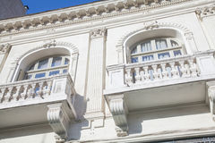 Old building facade Royalty Free Stock Images