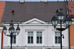 Old Building Facade at Union Square Royalty Free Stock Images