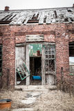 Old Building Falling Apart Stock Images