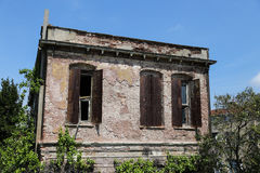 Old Building in Fener District, Istanbul Stock Image